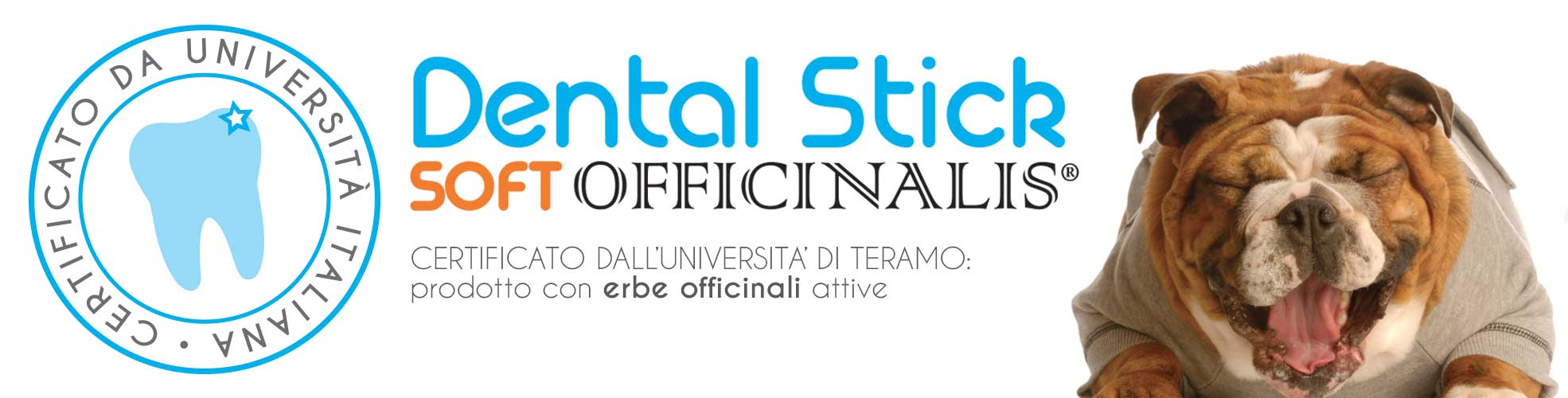 L'Università di Teramo ha certificato i nostri Dental Stick